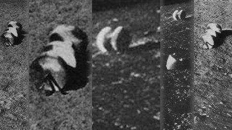 Fotos sonda Rusa luna 13 prueban existencia de artefactos alienigenas en la luna