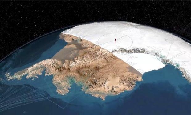 ¿Conoces La Ciudad Que Se Encuentra Debajo de la Antártida?