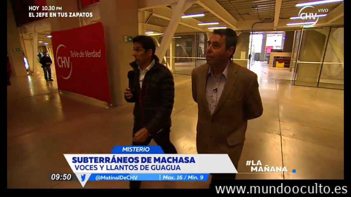 """""""Empleados no quieren ir a trabajar más"""": Fantasmas rondan en los pasillos de Chilevisión (ex fábrica de Machasa)"""