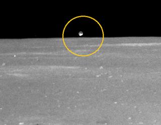 Fotografías liberadas de la luna e inexplicables