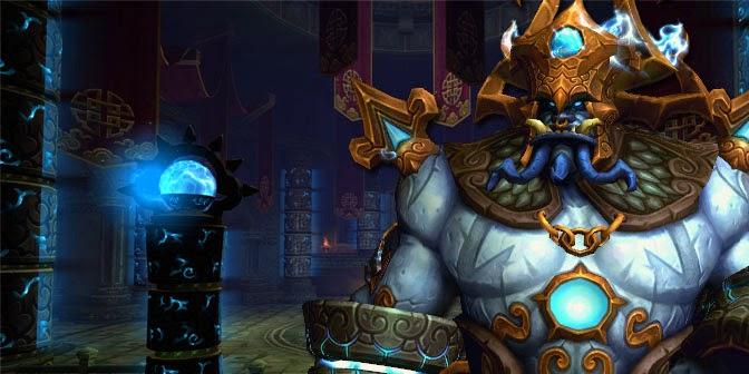 Lei Gong – Dios del trueno.