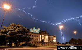 La actividad solar provoca tormentas eléctricas sobre la Tierra