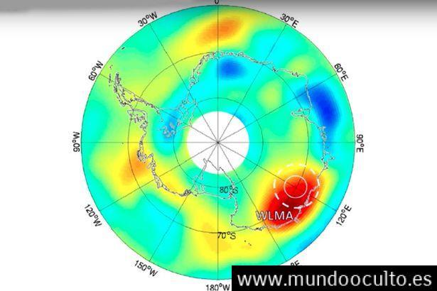Satélites de la NASA detectan anomalía de 250 km en la Antártida