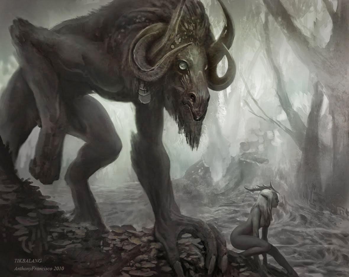 Tikbalang. El demonio caballo.