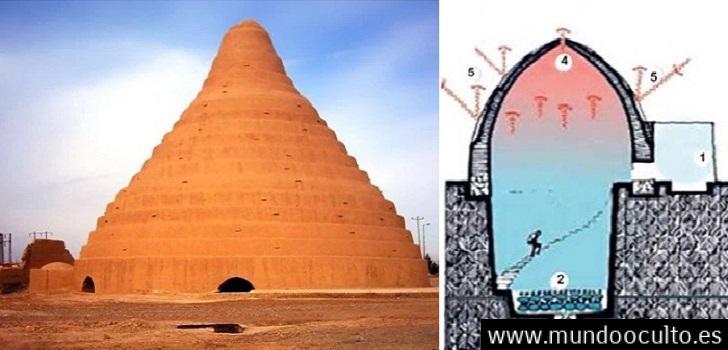 Yakhchal, el edificio con el que los persas hacian hielo en medio del desierto