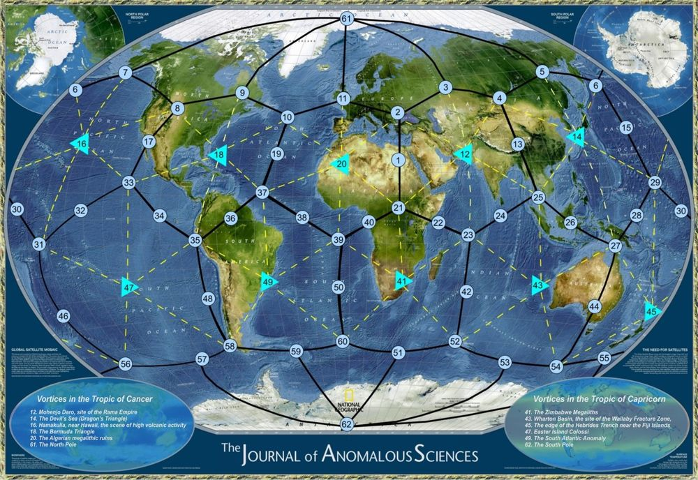 ¿Dónde se encuentran los puntos energéticos más poderosos y Chakras de la Tierra?