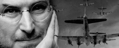 Steve Jobs el tirano y su vida pasada. Piloto de guerra