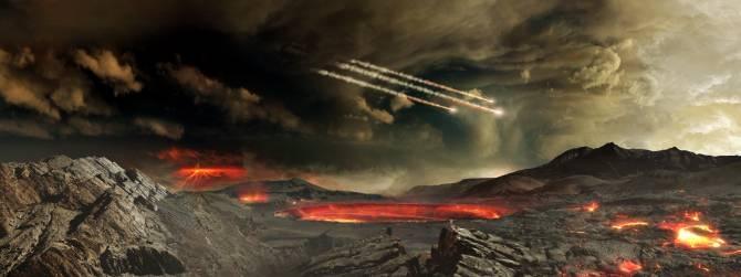 Cómo la Tierra perdió toda su atmósfera original en al menos dos ocasiones