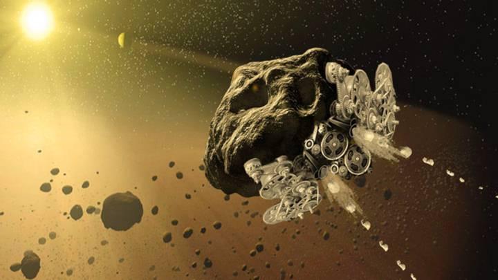 La transformación de asteroides en naves espaciales impulsaría la minería extraterrestre