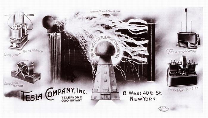Todas las patentes de Nikola Tesla reunidas en un solo documento