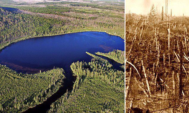 El evento Tunguska no fue causado por meteorito, según nuevo estudio.
