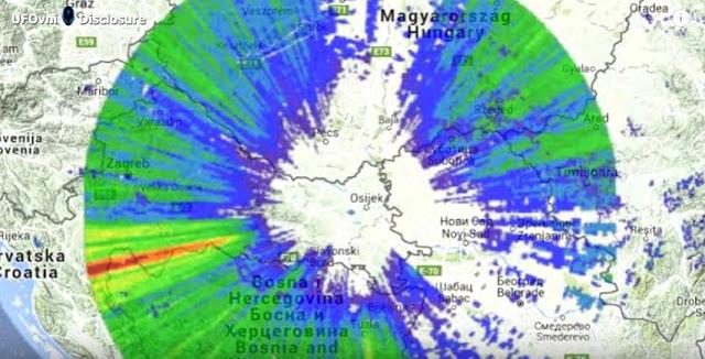 Siguen Apareciendo Extrañas Anomalías Atmosféricas, ahora en Croacia