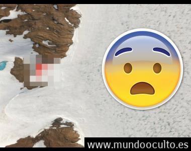 Google Maps: ¿captan 4 cápsulas extraterrestres en la Antártida?