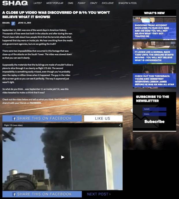 Shaquille O'Neal, ¿censurado por expresar su opinión sobre el 9/11?