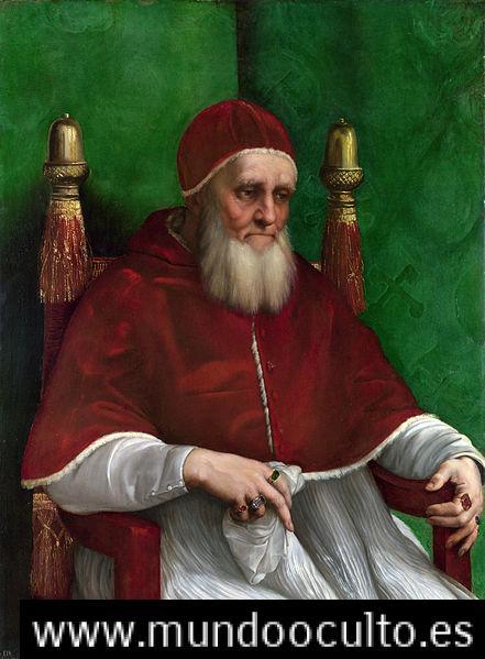 441px pope julius ii - San Malaquías y la temible profecía de los Papas que anuncia el fin del mundo