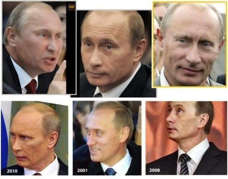 El Misterio de Vladimir Putin y sus Clones