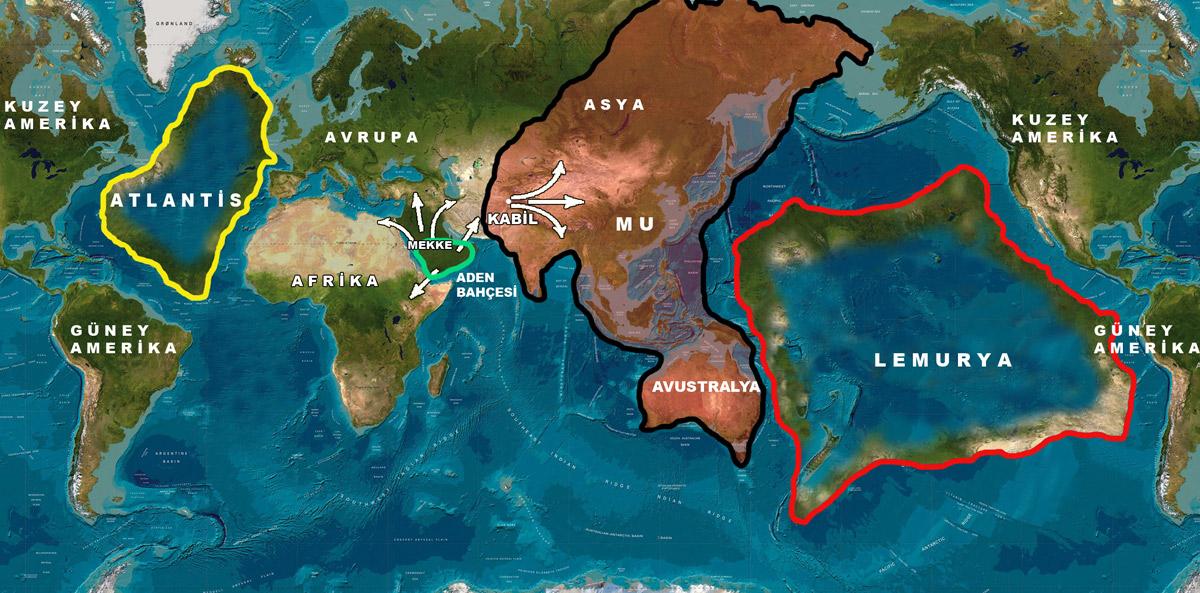 ¿Existieron los continentes perdidos de Mú y Lemuria? Descúbrelo aquí.