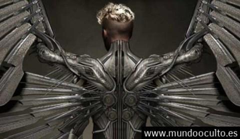 Asombrosos avistamientos de seres con alas metálicas