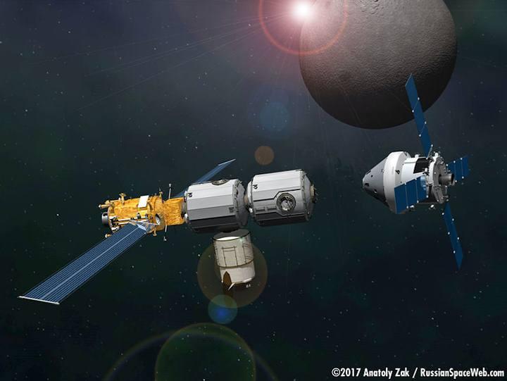 Un vistazo a la futura Estación Espacial que orbitará cerca de la Luna
