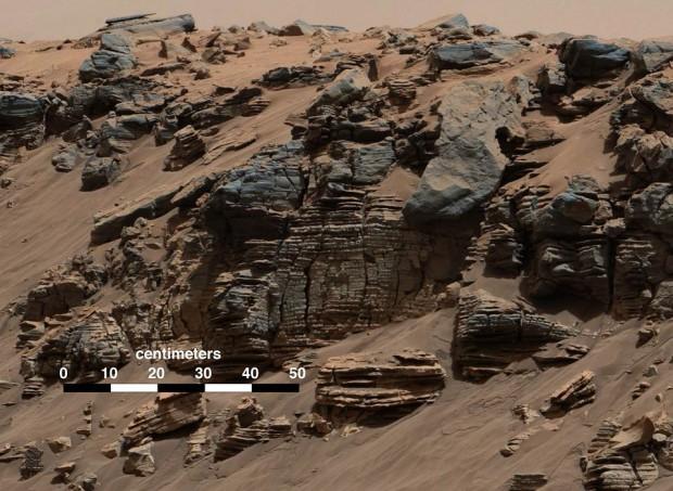 Curiosity halla evidencia de que hubo un lago en Marte