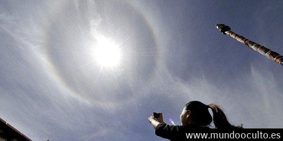 Nubes iridiscentes o señales del apocalipsis