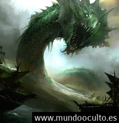 seaserpent emerald - Relato de la Serpiente Marina de Madagascar