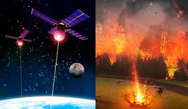 Estados Unidos se prepara para la guerra en el espacio