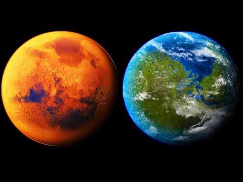 Proponen terraformación en Marte con el impacto de un asteroide