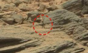 Seres vistos en Marte
