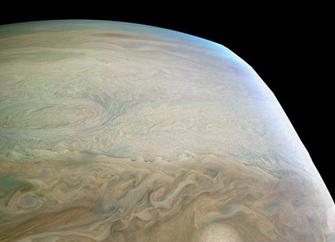 NASA publica imágenes inéditas de #Júpiter
