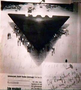 El avión secreto TR 3B de los EEUU