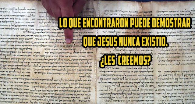 Arqueólogos creen que Jesús nunca existió