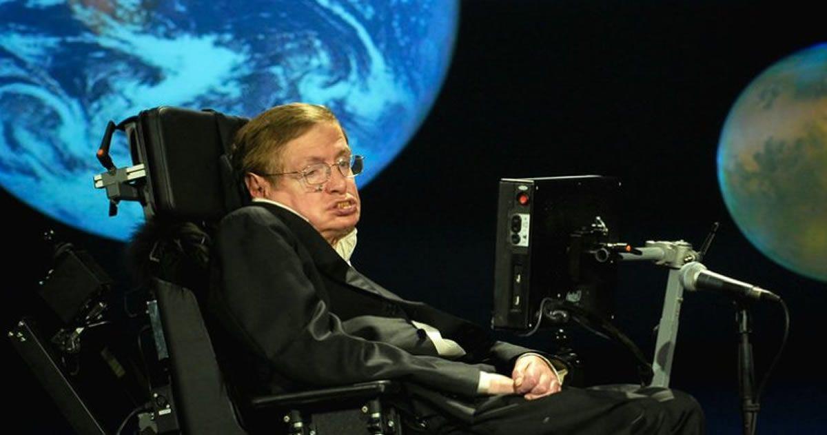 Stephen Hawking: «Existe una revuelta global contra los expertos en cambio climático»