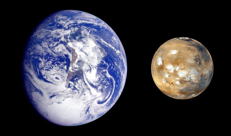 Marte estaba llamado a ser mucho más grande que la Tierra, pero se quedó pequeño por culpa de Júpiter