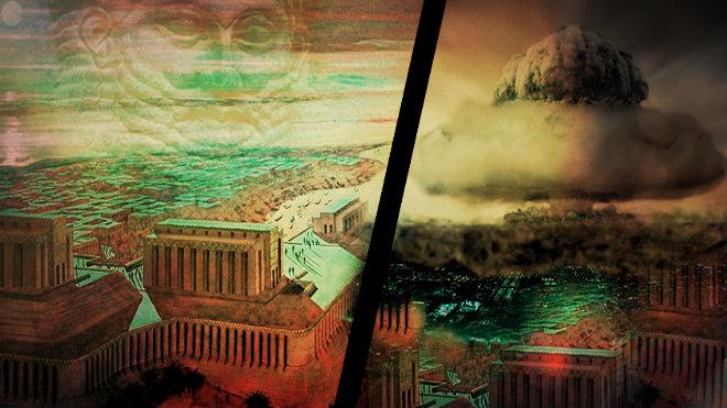 Todo parece indicar que Sumeria fue víctima de un ataque nuclear perpetrado hace 4000 años