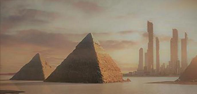 La CIA publicó documentos desclasificados sobre pirámides y la civilización perdida en Marte.
