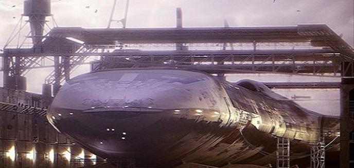"""La marina de guerra de los EE.UU y la NASA tienen una """"flota completamente funcional del espacio""""."""
