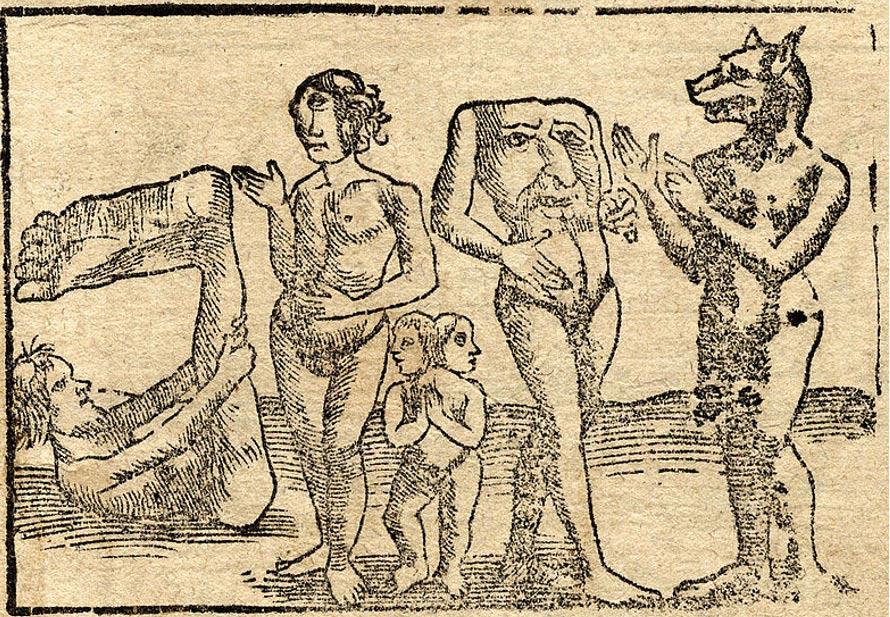 Blemios: Hombres sin cabeza de los antiguos mitos medievales