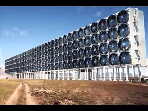 Video: Un 'bosque' artificial en forma de pared gigante que limpia el aire de CO2