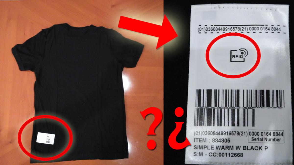 IMPACTANTE, encuentro un chip RFID en mi ropa, llegó el CONTROL TOTAL   VM Granmisterio