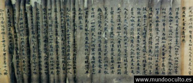 Antiguo manuscrito chino de 500 años de antigüedad describe una sorprendente abducción alienígena