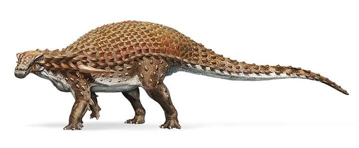 El asombroso hallazgo de un fósil de dinosaurio que parece una estatua