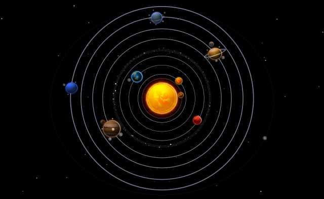 Algo está pasando en el sistema solar