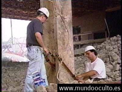 Evidencias de que el acero de las vigas de las torres del World Trade Center fue cortado con Termita
