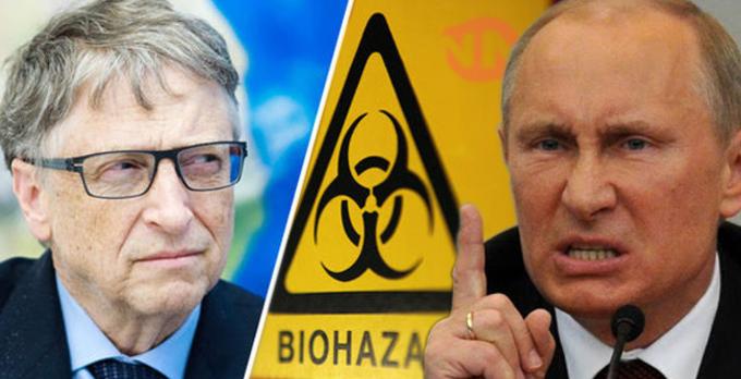 Bill Gates: Acusado por Putin de iniciar la aparición del Ébola en África .