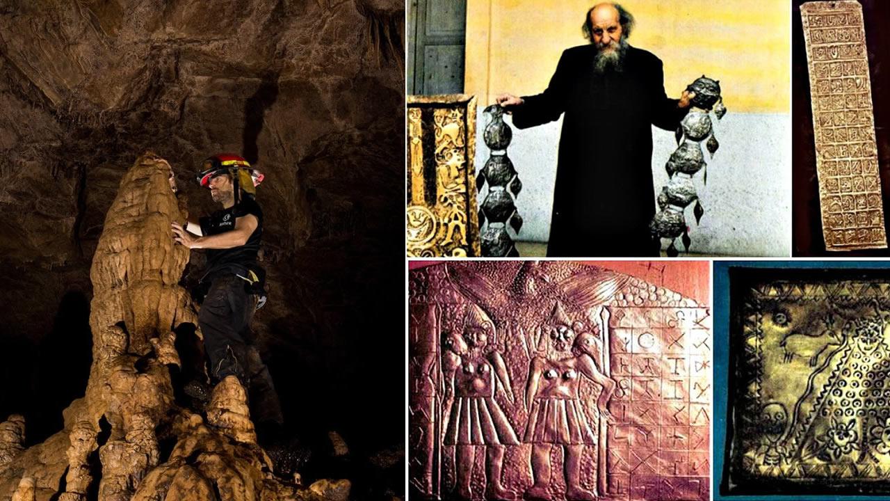 La enigmatica cueva de los tayos
