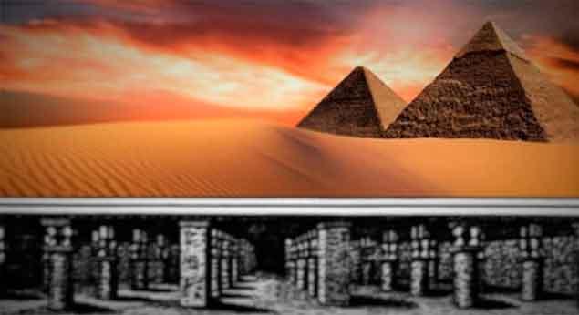 La ciudad perdida bajo las Pirámides de Giza.