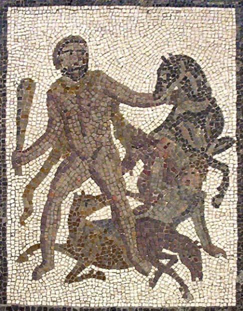 Hércules y las yeguas de Diomedes: un héroe griego contra bestias devoradoras de hombres