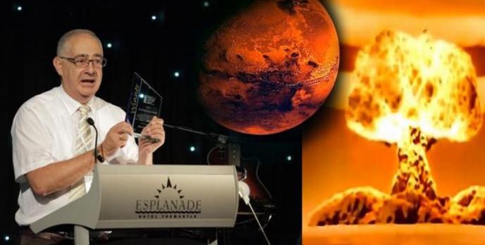 ¡Científico afirma que un ataque nuclear desapareció las civilizaciones que habitaron Marte!