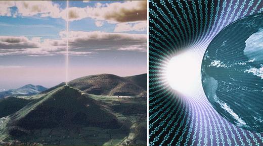Las pirámides forman una red de comunicación intergaláctica basada en el 'Internet cósmico' descrito por Nikola Tesla